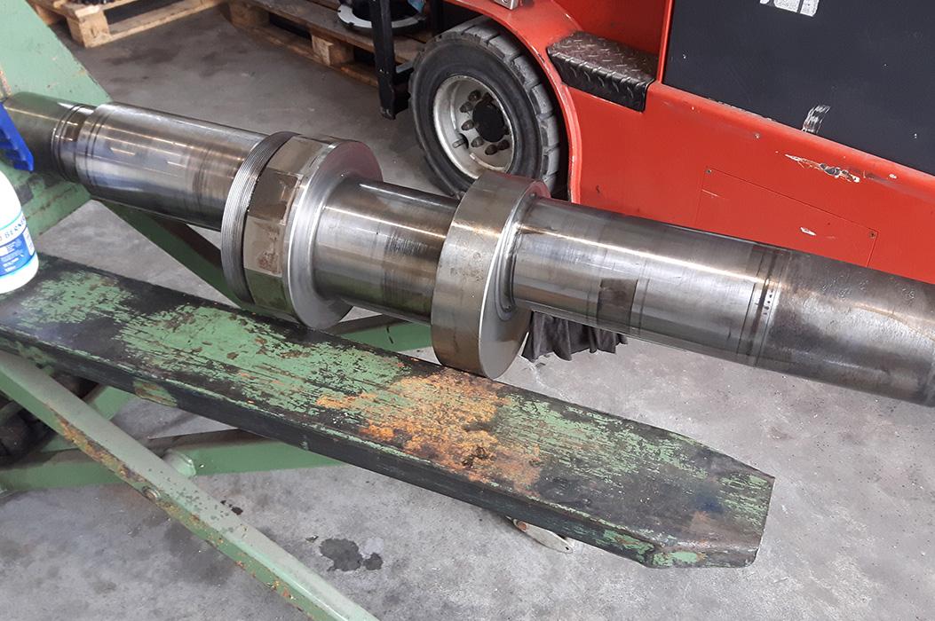 Remont prasy Cotelli 200 ton